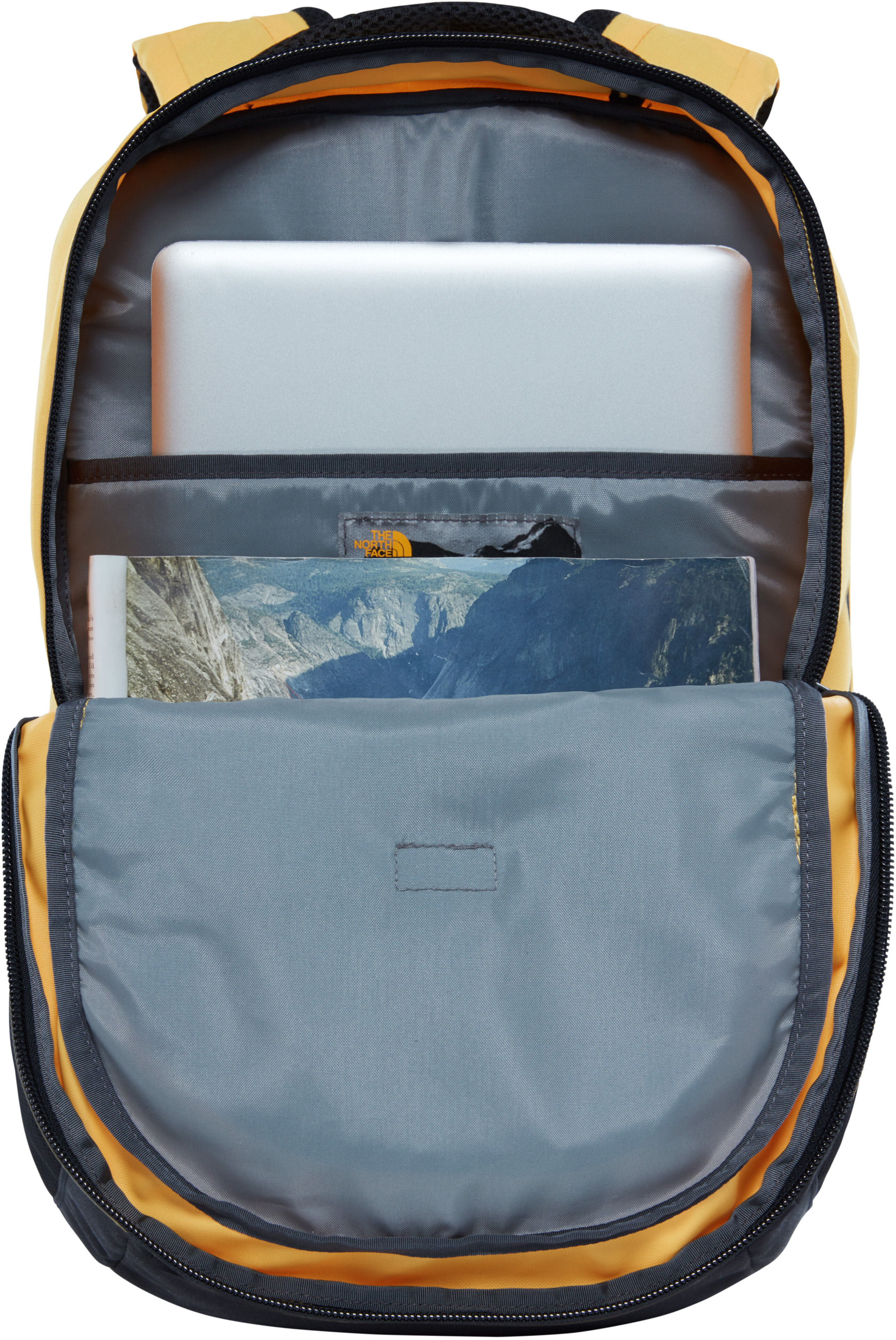 The North Face Vault Backpack Tnf Yellow Tnf Black